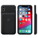 APPLE-XS-COVBAT - Coque officielle Apple iPhone Xs avec batterie en silicone noire