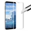 GLASS3D-S9PLUSTRANS - Protection écran Galaxy S9 Plus en verre trempé incurvé transparent