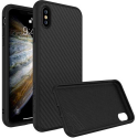 RHINO-SOLIDIPXSCARBO - Coque RhinoShield pour iPhone Xs coloris carbone noir