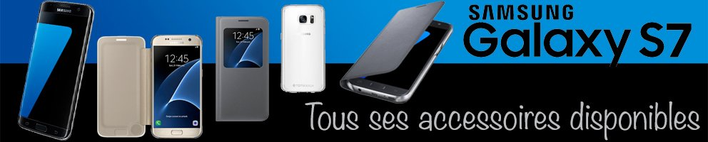 accessoires, housse samsung galaxy S7